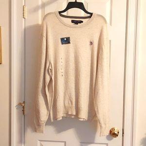 BNWOT POLO Sweater Size L